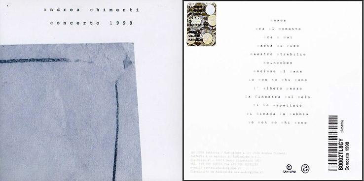 album concerto 1998